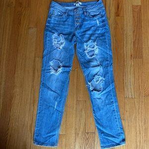 Refuge Distressed Mom Jeans
